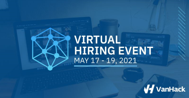 Virtual Hiring Event - A special Tech Hiring Event for Senior Developers